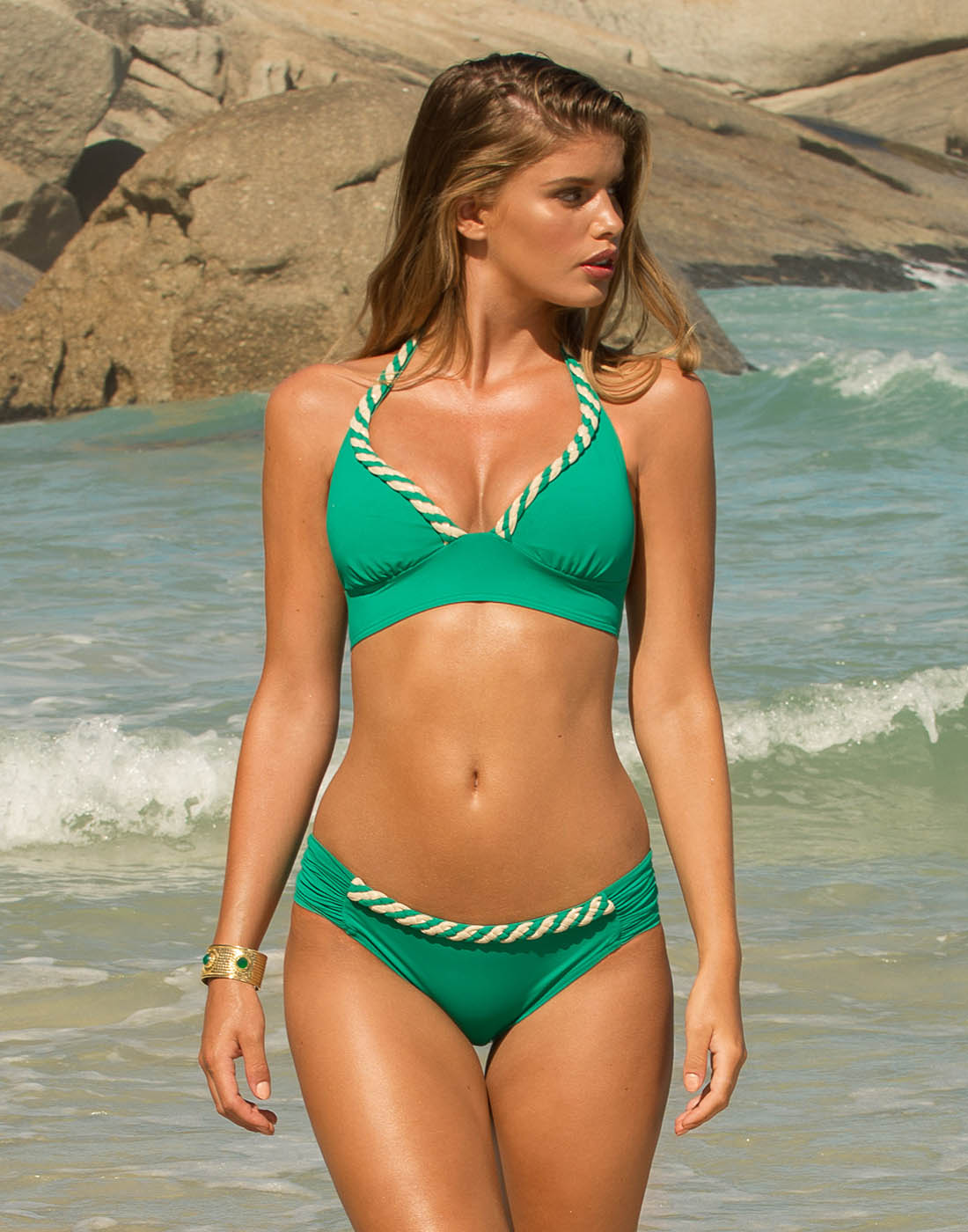 Emerald Bikini Brief